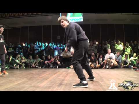 FLEXIBLE FLAV vs MF KIDZ | FLOOR WARS 2012