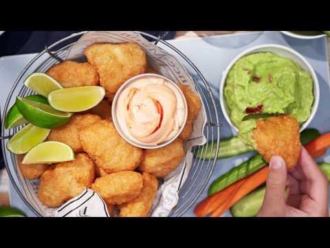Fish Nuggets med goda dippor