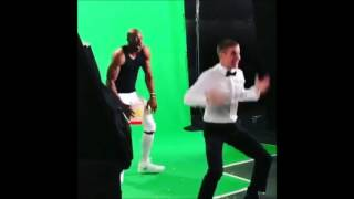"Justin Bieber dancing to ""Party"" by Chris Brown (Super Bowl Commercial)"