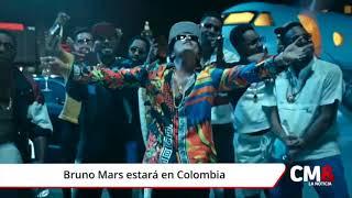 Bruno Mars estará en Colombia