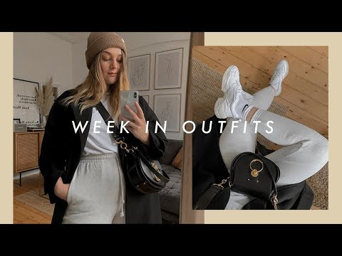 A WEEK IN OUTFITS | EVERYDAY AUTUMN LOOKS | I Covet Thee