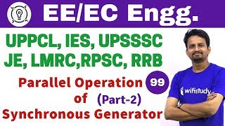 6:00 PM - Electrical Engineering 2018 by Ashish Sir | Parallel Operation of Synchronous Generator