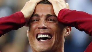 Reacção e as lágrimas de Ronaldo após o golo de Éder Euro 2016
