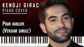 Kendji Girac - Pour oublier - Piano Cover