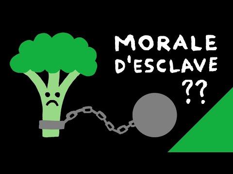 VÉGANISME = MORALE D'ESCLAVE... ?!