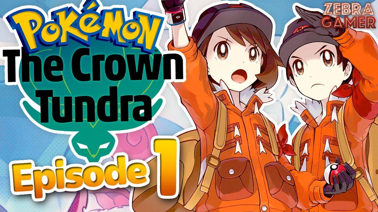 Zebra Gamer - Dynamax Adventure Caves! - Pokemon Sword and Shield: The Crown Tundra Gameplay Walkthrough Part 1