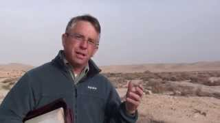 """Entering into the Promised Land"" Children of Israel wondered in the Wilderness, Negev Israel"