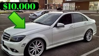 Best Used Luxury Cars for under $15,000
