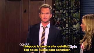 la historia de Barney y Robin en 1 minuto