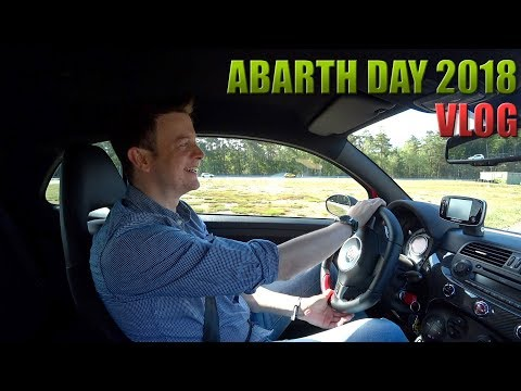 VLOG - Abarth Day 2018 Luk Driving Center  ///Lets Drive///