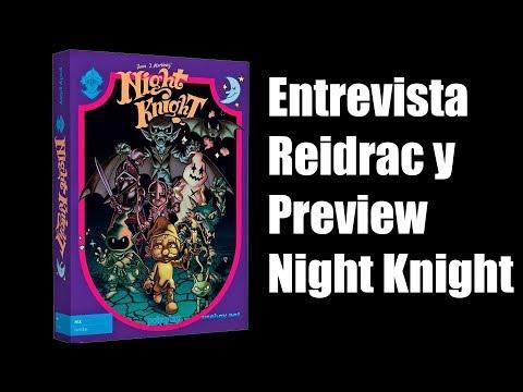 NIGHT KNIGHT MSX REIDRAC