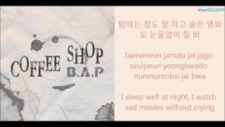 B.A.P - Coffee Shop [Hangul/Romanization/English] Color Coded HD
