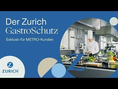 Zurich GastroSchutz - exklusiv für METRO-Kunden