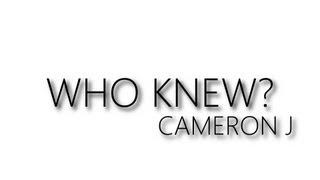 Cameron J - Who Knew (Audio) @TheKingOfWeird