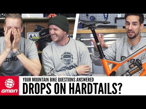 """Riding Drops On Hardtails"""" 