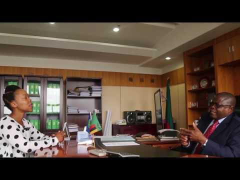#AfricaConnected - Nikiwe chats to Zambian Mining Minister