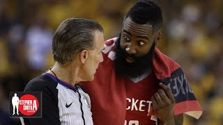 The Rockets fall apart when James Harden doesn't get foul calls | Stephen A. Smith Show