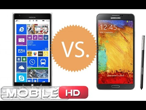 GALAXY NOTE 3 vs NOKIA LUMIA مقارنة 1520