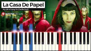 💎💎💎La Casa de Papel - My Life is Going On (Piano tutorial)💎💎💎