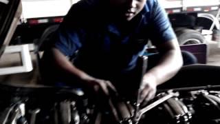 Scania R420 - Calibragem de Válvula Parte 1