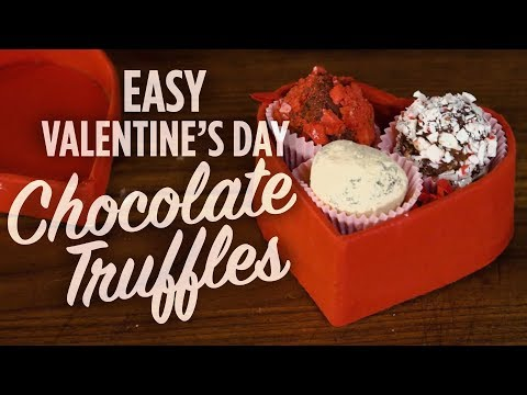 How to Make Easy Chocolate Truffles for Valentine's Day | You Can Cook That | Allrecipes.com
