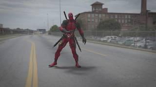 Deadpool Break Dance Fan Clip | Salt-N-Pepa - Shoop