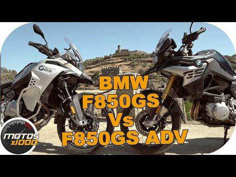 Comparativa BMW F850GS Vs. BMW F850GS Adventure | Motosx1000