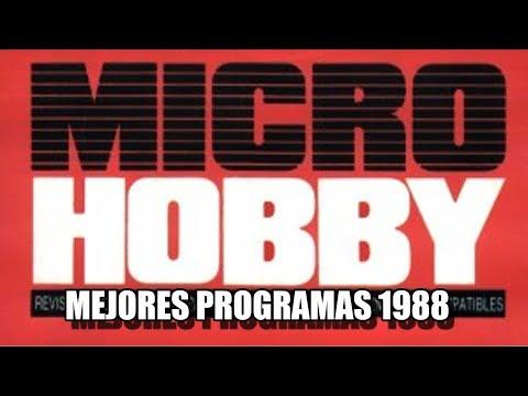 MICROHOBBY MEJORES JUEGOS 1988