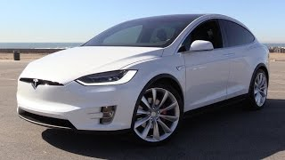 2016 Tesla Model X P90D Signature w/Ludicrous Mode - Power Up, Test Drive & In Depth Review
