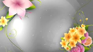 Full HD Flower animation background