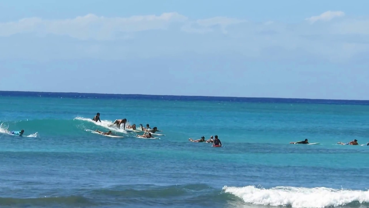 waikiki beach surfer surfing hawaii oahu honolulu 11052016 2