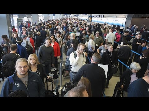TSA Fail: Huge Lines...
