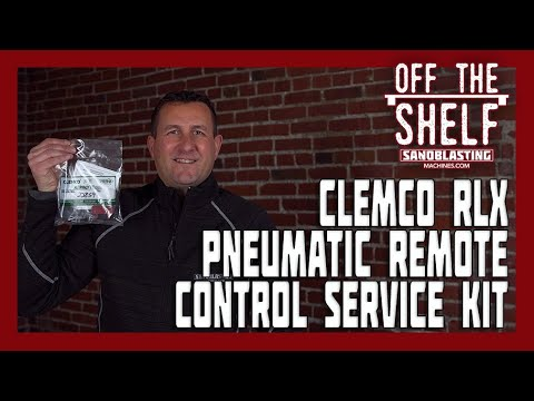 Clemco RLX Pneumatic Remote Control Service Kit video