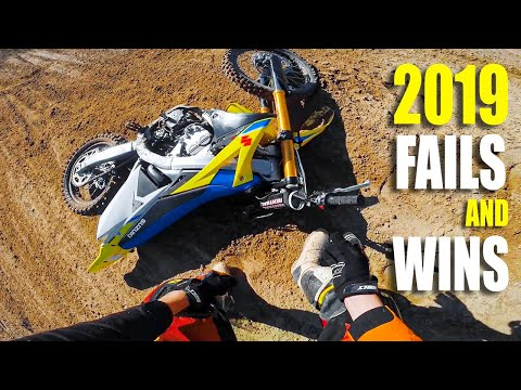 Motocross FAILS and Fun Moments from 2019