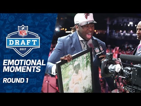 Most Emotional Moments (Round 1) | 2017 NFL Draft