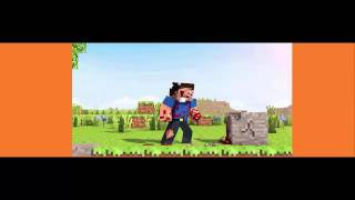 minecraft animation , herobin with blood , tear , sweet .
