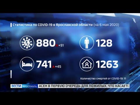За сутки число заразившихся коронавирусом в регионе увеличилось на 51