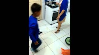 Rato na cozinha