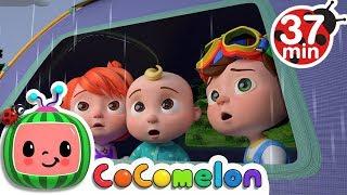 Rain Rain Go Away | +More Nursery Rhymes & Kids Songs - Cocomelon (ABCkidTV) width=