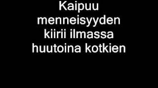 Nightwish - Lappi I - Eramaajarvi (with lyrics)