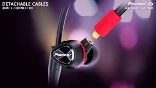 PIONEER DJE-2000 & DJE-1500 In-Ear Headphones with DJ B Traits | agiprodj