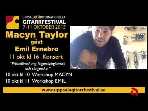 Macyn Taylor and Emil Ernebro  Uppsala 2015