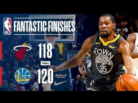 Wild Finish In Oracle Between Heat & Warriors! | February 10, 2019