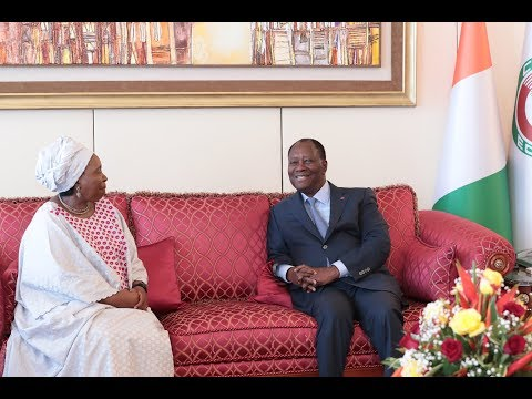 Le Chef de l'Etat a eu un entretien avec  Mme Nkosazana DLAMINI-ZUMA