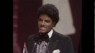 "Michael Jackson Wins Favorite Soul/R&B Album For ""Off The Wall"" - AMA 1980"