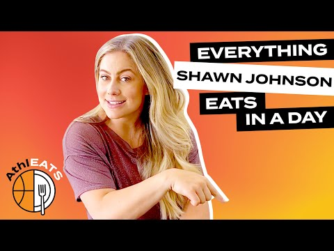 Everything Olympic Gymnast Shawn Johnson Eats In A Day | AthlEATS
