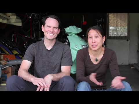 GOVECS scooter video with Chris and Wen from FrugalHappy.org in California