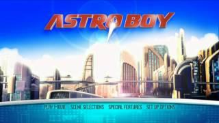 Astro Boy [UK DVD Menu]
