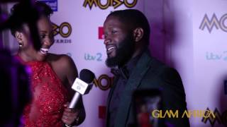 The Glitz And Glam At The 2016 Mobo Awards Red Carpet In Glasgow
