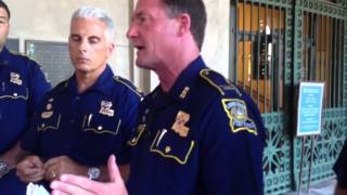 State Police Col. Mike Edmonson discusses Shamarr Allen video